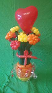 Blumenstrauß aus Ballons, Geschenkdiee