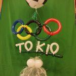 Geschenkballon Olympische Spiele. Tokio