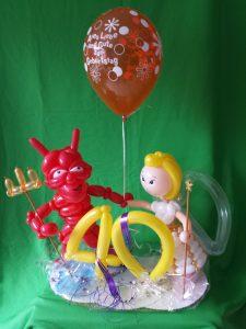 Engel und Teufel zum 40. Geburtstag (1)