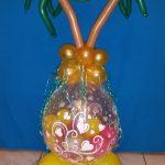 Großer Geschenkballon zur Urlaubsüberraschung