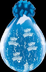 Geschenkballon, Happy Birthday
