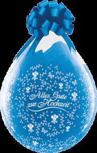 Geschenkballon, Alles Gute Zur Hochzeit