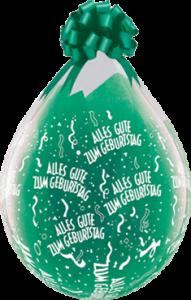 Verpackungsballon, Alles Gute zum Geburtstag