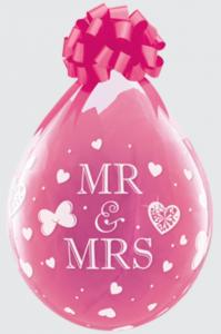 Geschenkballon MR & MRS