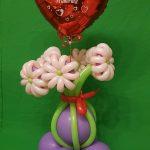 Muttertag, Geschenkidee, Ballonblumen, Heliumballon
