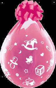 Geschenkballon zur Geburt