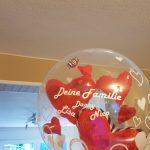 Geschenkballon mit einem personalisierten Ballon