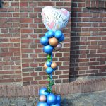 Ballonsäule, Hochzeit, Deko, Dekoration