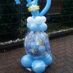 Ein Geschenkballon zum 70. Geburtstag