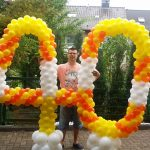 Große Zahlen, Ballonzahlen, Geburtstag