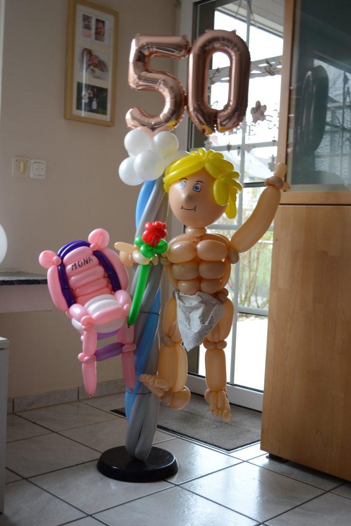 Stripper zum 50. Geburtstag