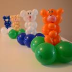 Ballonfigurgen Bärchen